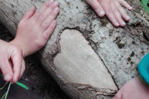 Gemeinschaft im Naturkindergarten Pfäffingen